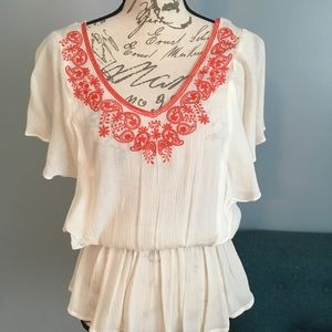 Forever 21 Flowy Top sz S